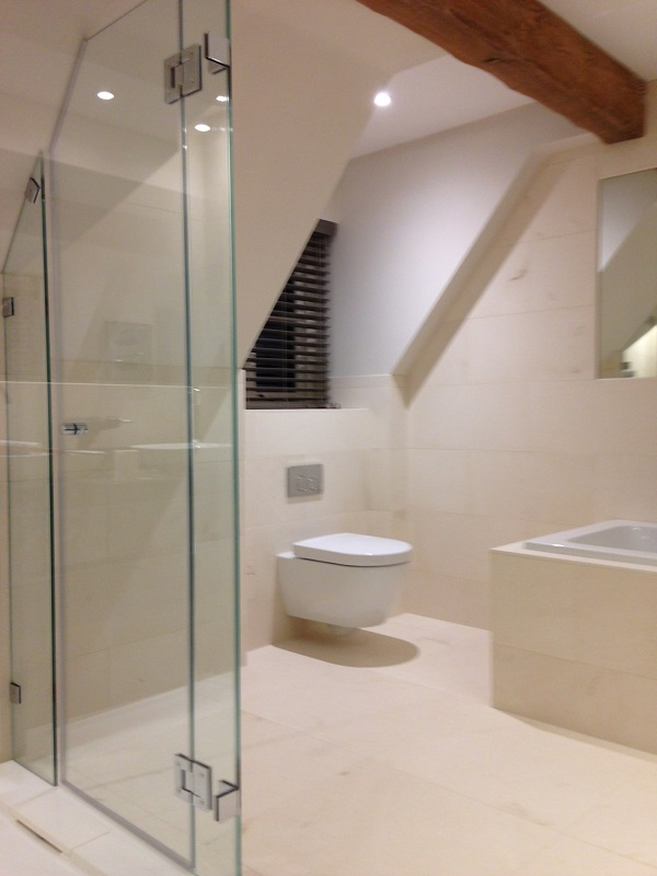 Amazing Frameless Shower Enclosures made to your specifications