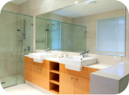 low iron glass and mirror fitted