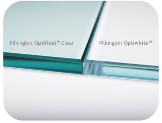 Pilkington OptiWhite Comparison
