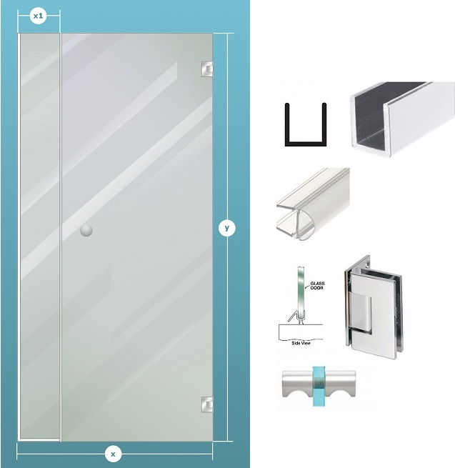 Mirrors and Glass - Glass Shower Enclosures: Shower