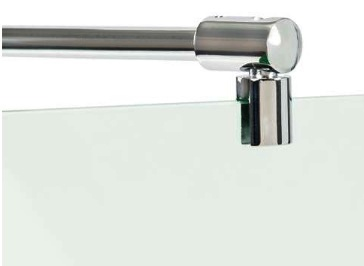 Glass Shower Screen Top Bar Support 6mm-8mm Glass